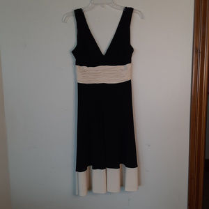 Jones New York Black Dress Spaghetti Strap Sz 6P